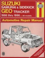 Suzuki Samurai/Sidekick & Geo Tracker Automotive Repair Manual