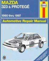 Mazda 323 & Protegé Automotive Repair Manual
