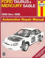 Ford Taurus and Mercury Sable Automotive Repair Manual