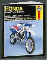 Honda XL/XR600R Owners Workshop Manual
