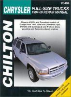 Chilton's Chrysler Full-size Trucks, 1997-2000 Repair Manual