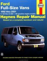 Ford Vans Automotive Repair Manual 1992 Thru 2001