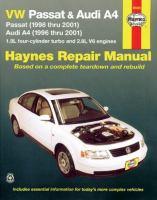 VW Passat & Audi A4 Automotive Repair Manual
