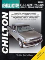 Chilton's General Motors Full-size Trucks 1999-01 Repair Manual
