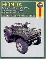 Honda TRX400/450 ATV Owners Workshop Manual