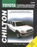 Chilton's Toyota Tundra/Sequoia 2000-02 Repair Manual