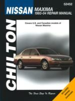 Chilton's Nissan Maxima 1993-04 repair manual