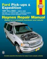 Ford Pick-ups & Expedition, Lincoln Navigator Automotive Repair Manual
