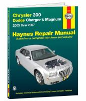 Chrysler 300, Dodge Charger & Magnum Automotive Repair Manual