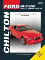 Chilton Ford Mustang 2005-07 Repair Manual