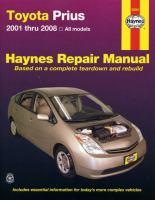 Toyota Prius Automotive Repair Manual