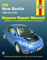 VW New Beetle Automotive Repair Manual