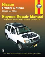 Nissan Frontier & Xterra Automotive Repair Manual