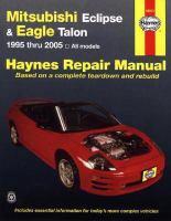 Mitsubishi Eclipse & Eagle Talon Automotive Repair Manual