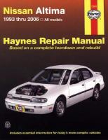 Nissan Altima automotive repair manual
