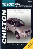 Chilton's Toyota Rav4, 1996-05 Repair Manual