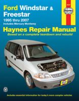 Ford Windstar, Freestar & Mercury Monterey Automotive Repair Manual