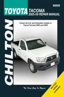 Chilton's Toyota Tacoma 2005-09 Repair Manual
