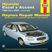 Hyundai Excel & Accent Automotive Repair Manual