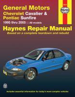 Chevrolet Cavalier & Pontiac Sunfire Automotive Repair Manual