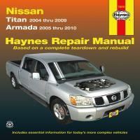 Nissan Titan & Armada Automotive Repair Manual