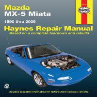 Mazda MX-5 Miata Automotive Repair Manual