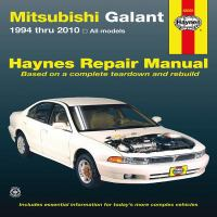 Mitsubishi Galant Automotive Repair Manual