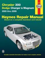 Chrysler 300, Dodge Charger & Magnum Automotive Repair Manual