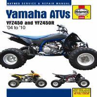 Yamaha YFZ450 & YFZ450R ATV Service & Repair Manual