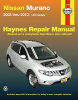 Nissan Murano Automotive Repair Manual