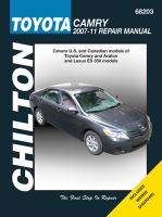 Chilton's Toyota Camry 2007-11 Repair Manual