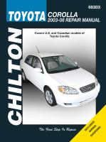 Chilton's Toyota Corolla 2003-08 Repair Manual