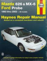 Mazda 626 and MX-6, Ford Probe Automotive Repair Manual