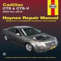 Cadillac CTS Automotive Repair Manual