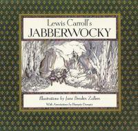 Lewis Carroll's [i.e. C. L. Dodgson's] Jabberwocky