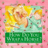 How Do You Wrap A Horse?