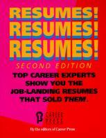 Resumes! Resumes! Resumes!