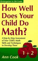 How Well Does your Child Do Math?
