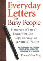 Everyday Letters for Busy People