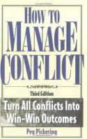 How to Manage Conflict