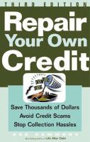 Repair your Own Credit