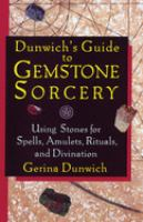 Dunwich's Guide to Gemstone Sorcery