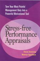 Stress-free Performance Appraisals