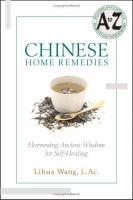 Chinese Home Remedies