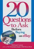 20 Questions to Ask Before Buying on EBay
