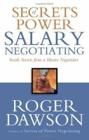 Secrets of Power Salary Negotiating