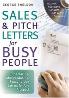 Sales & Pitch Letters for Busy People