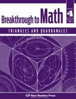 Breakthrough to Math