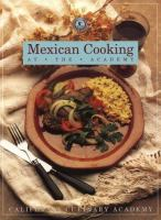 Mexican Cooking at the Academy