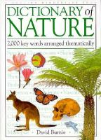 Dictionary of Nature